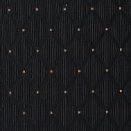černá se zlatým puntíkem