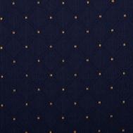 modrá se zlatým puntíkem