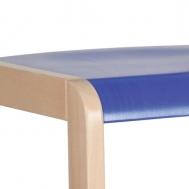 pastelová modrá sedák