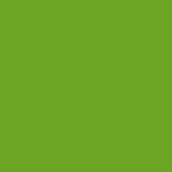 Plast zelený