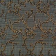 Látka s dekorem PARIS 5002 tmavě modrá