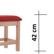 výška sedáku 42 cm