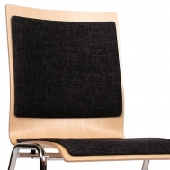 Čalouněný sedák i opěrka ST40