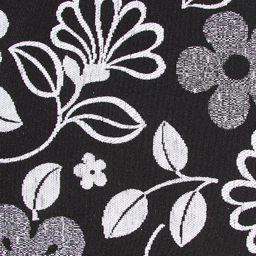 Potahová látka květovaná GLORIA 3 bílá