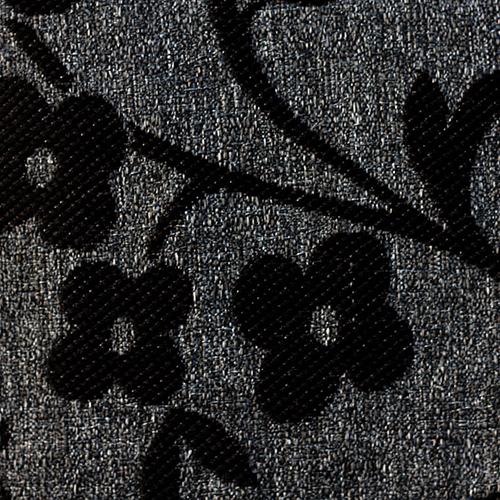 Látka s dekorem AKR 88 šedá-černá