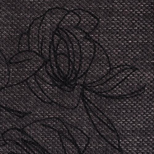 Látky s květy růží RIM32 tmavá perleť