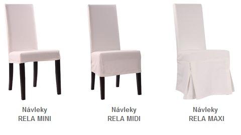 Návleky na židle