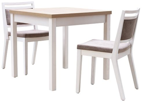 Židle Leandro a stoly KIAN LBC