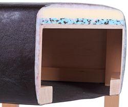 Čalouněný sedák barové židle