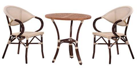 Zahradní stoly BAMBU 3 a židle MANGO