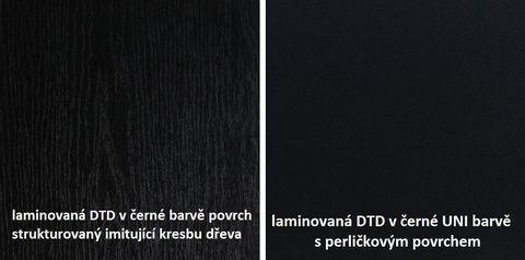 Černé barvy LDT