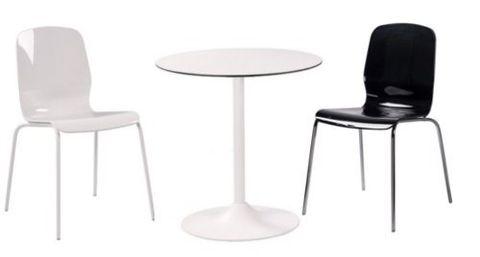 Kovové bistro stoly a židle