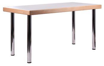 Desky ke stolu se zesílenou hranou na 65 mm.