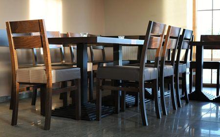 Dřevěné čalouněn židle pro restaurace SCARLA