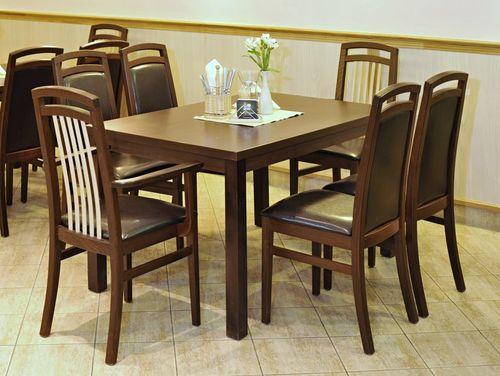 Dřevěný stůl KIAN 128