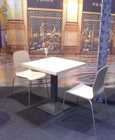 Kovové židle Glamour
