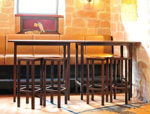 Barové židle LIVO dřevěné