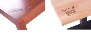 Logo desky stolu