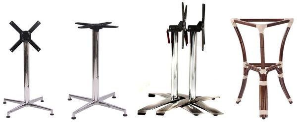 Nohy ke stolu nerezové