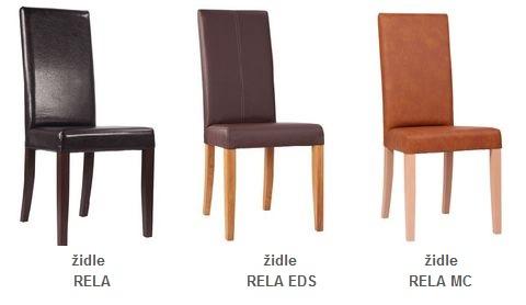 Vhodné čalouněné židle.