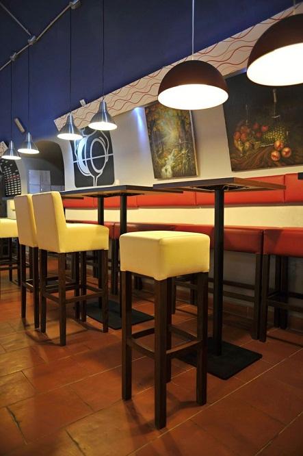 Stolová barová podnož SALENTO 40 H