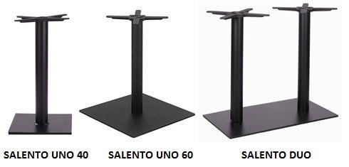Kovové nohy ke stolu SALENTO