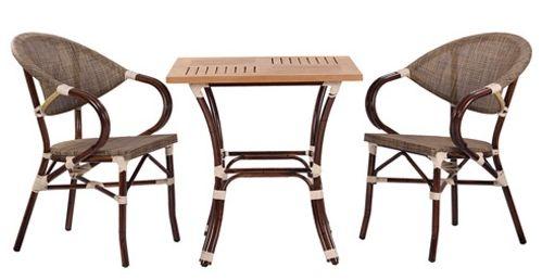 Zahradní stoly BAMBU 4 a židle MANGO