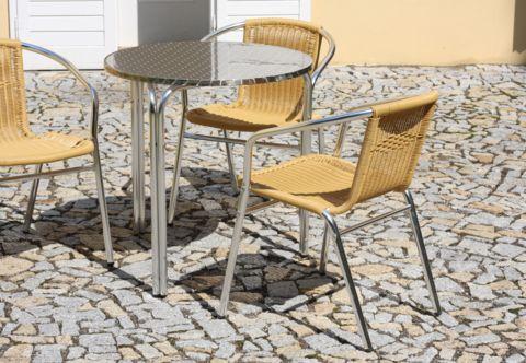 Zahradní stoly hliníkové IRENA