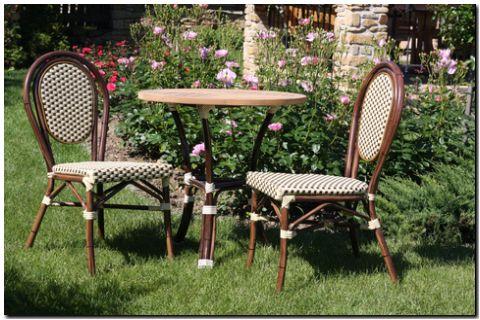 Zahradní židle BAMBU