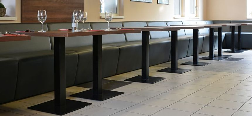 Kovové stolové podnože a nohy