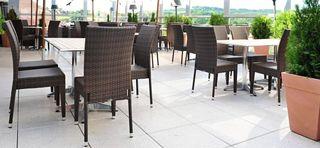 Stoličky pre vonkajšie použitie