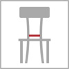 Šířka sedáku židle