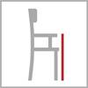 Výška područek židle
