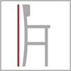 Celková výška barové židle 4n