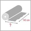 Spotřeba látky 140cm