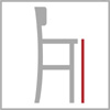 Sedací výška barové židle