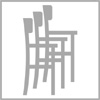 Možnost stohování barové židle 4n