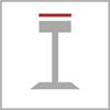 Rozměr sedáku barové židle 1n