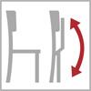 Možnost sklopení židle