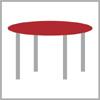 Rozměr stolového plátu kulatý
