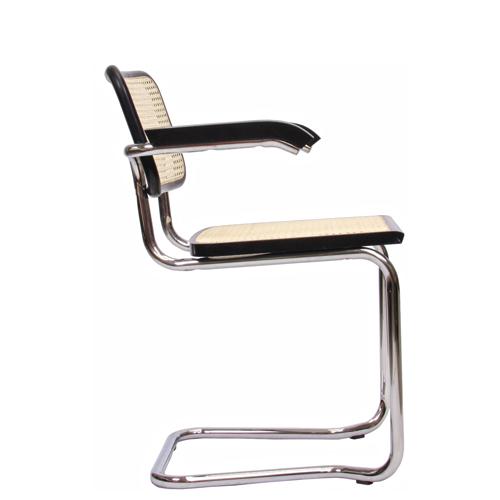Kovová židle do jednacích místnsotí
