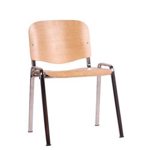 Kovová židle ISO WOOD kostra chrom