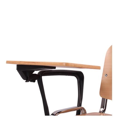 Židle do seminárních místností s psacím stolkem