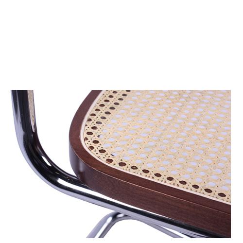 Kovové židle s výpletem