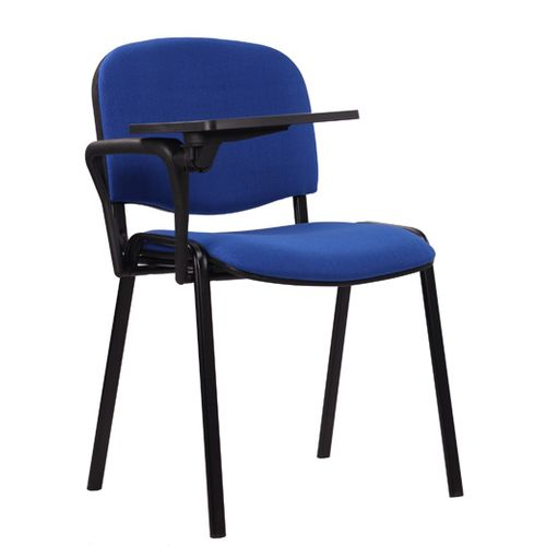 Kovová jednací židle s psací podložkou