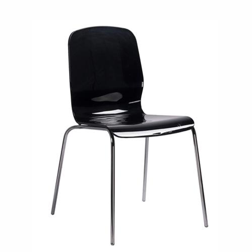 Plastové koové židle