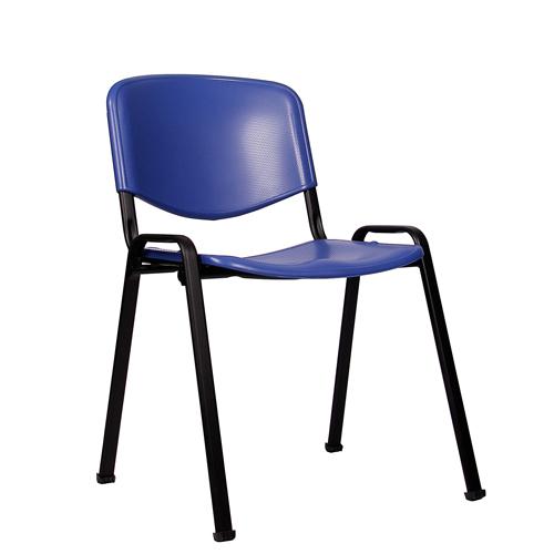 Kovová židle ISO PL kostra černá