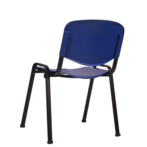 kovové židle plastové opěradlo