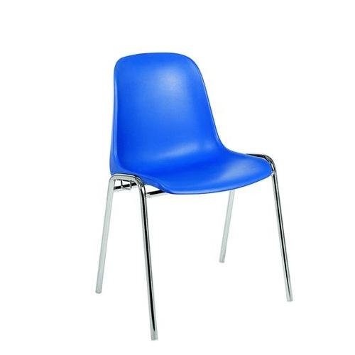 Kovová plastová židle PAULA RS