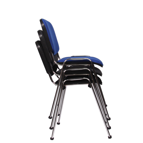 Kovové židle s možností stohování